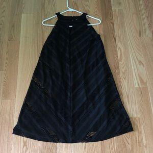 Dress Barn Midi Black Dress